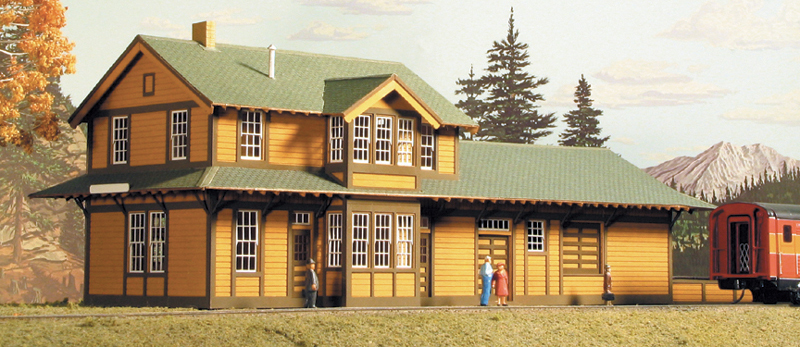 N Scale Structure Kits