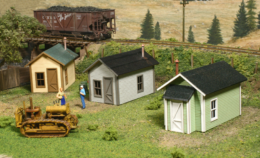 ho scale structure kits